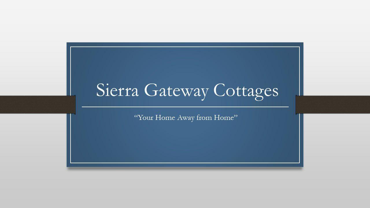 Privacy Statement, Sierra Gateway Cottages